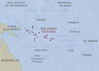 Geography of the Solomon Islands
