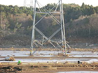 Damage to electricity transmission lines