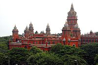 Madras High Court buildings are a prime example of Indo-Saracenic architecture, designed by JW Brassington under the guidance of British architect Henry Irwin.