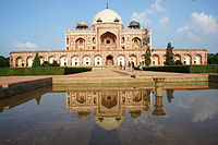 Humayun's Tomb, Delhi, the first fully developed Mughal imperial tomb, 1569–70 CE.