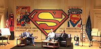 The Library of Congress hosting a discussion with Dan Jurgens and Paul Levitz for Superman's 80th anniversary and the 1,000th issue of Action Comics.