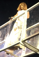 Rihanna performing on the Anti World Tour in 2016