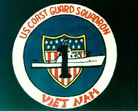 United States Coast Guard Squadron One unit patch during the Vietnam War