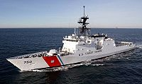 , the first Legend-class national security cutters