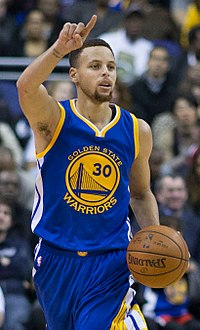 Stephen Curry led the Golden State Warriors to both the best regular season and postseason records in NBA history, and 3 championships.