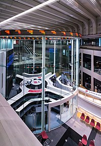 The Tokyo Stock Exchange, one of the largest stock exchanges in Asia