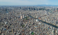 The Greater Tokyo Area ranked as the most populous metropolitan area in the world.