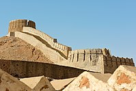 Ranikot Fort, one of the largest forts in the world