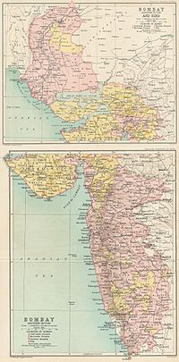Sindh became part of the Bombay Presidency in 1909.
