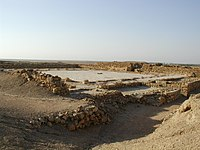 The ruins of an ancient mosque at Bhambore