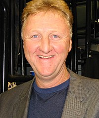 Larry Bird, inducted in 1998