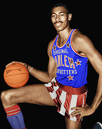 Wilt Chamberlain, inducted in 1979