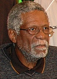 Bill Russell, inducted in 1975