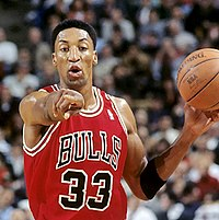 Scottie Pippen, inducted in 2010