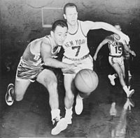 Bob Cousy, inducted in 1971
