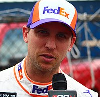 Denny Hamlin, finished fourth in the championship.