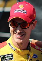 Joey Logano, finished third in the championship.