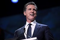 Newsom speaks to the 2019 California Democratic Party State Convention
