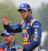 Chase Elliott was the leader of the race for 51 laps.