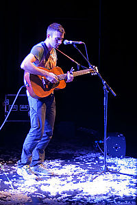 Stevens in 2011, following his return to recording and touring in 2010 after a hiatus