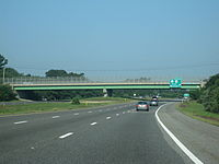 Route 25 west at Exit 2 and the Glen Charlie Road overpass in Wareham