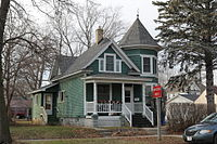 A house in the Society Hill Historic District