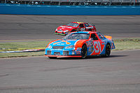Robby Gordon in the No. 31 Cingular Chevy at PIR in 2004. All three of Robby Gordon's Cup wins came in the No. 31.