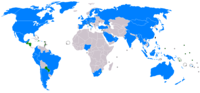 Countries maintaining relations with the ROC