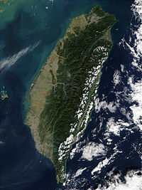 Taiwan is mostly mountainous in the east, with gently sloping plains in the west. The Penghu Islands are west of the main island.