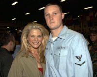 December 1999, during a Christmas visit to the USO