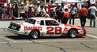 1983 car, driven by Cale Yarborough.
