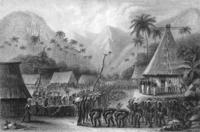 The first Europeans to land and live among the Fijians were shipwrecked sailors like Charles Savage.