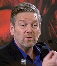 Actor-director Kenneth Branagh, Thompson's first husband