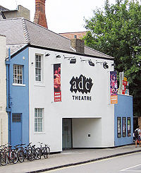 ADC Theatre, University of Cambridge, where Thompson began performing with Footlights