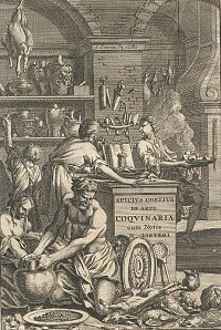 """Apicius, De re coquinaria (""""On the Subject of Cooking""""), 1709 edition."""