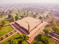 Emperor Jahangir forbade the construction of a dome over his tomb