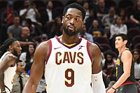Wade with the Cavs in 2017