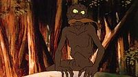 Gollum in Ralph Bakshi's animated 1978 version of The Lord of the Rings