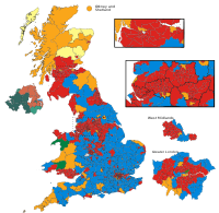 The hypothetical results of the 2005 election, if they had taken place with the new boundaries