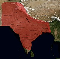 Mughal India at its greatest extent, at the sharia apogee of Muhammad Aurangzeb Alamgir.