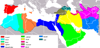 Regional powers born out of the fragmentation of the Abbasid caliphate