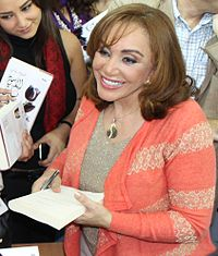 Ahlam Mosteghanemi, the most widely read woman writer in the Arab world.