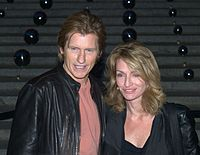 Leary and his wife Ann Lembeck at the 2010 Tribeca Film Festival