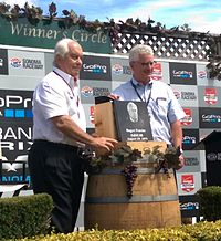 Roger Penske was inaugurated into the Wall of Fame at Sonoma Raceway in 2015