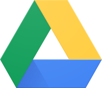 Google Drive's old logo that was used from its creation in 2009 to October 26, 2020