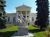 Odessa Archaeological Museum was designed in the Neoclassical style just like many other landmarks of the city.