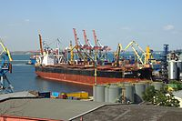 Odessa's port is Ukraine's busiest. The harbour remains accessible all year round and serves as a vital import/export channel for the Ukrainian economy.