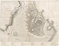 Plan of Odessa in 1814