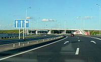 The M05 Highway links Odessa with the nation's capital, Kyiv. Odessa junction.