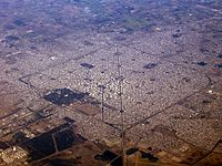 La Plata, Argentina, based on a perfect square with 5196-meter sides, was designed in the 1880s as the new capital of Buenos Aires Province.